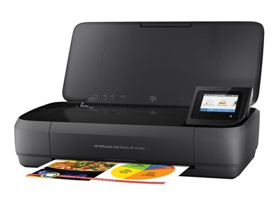 HP Officejet 250 Mobile All-in-One Multifunction printer color ink-jet