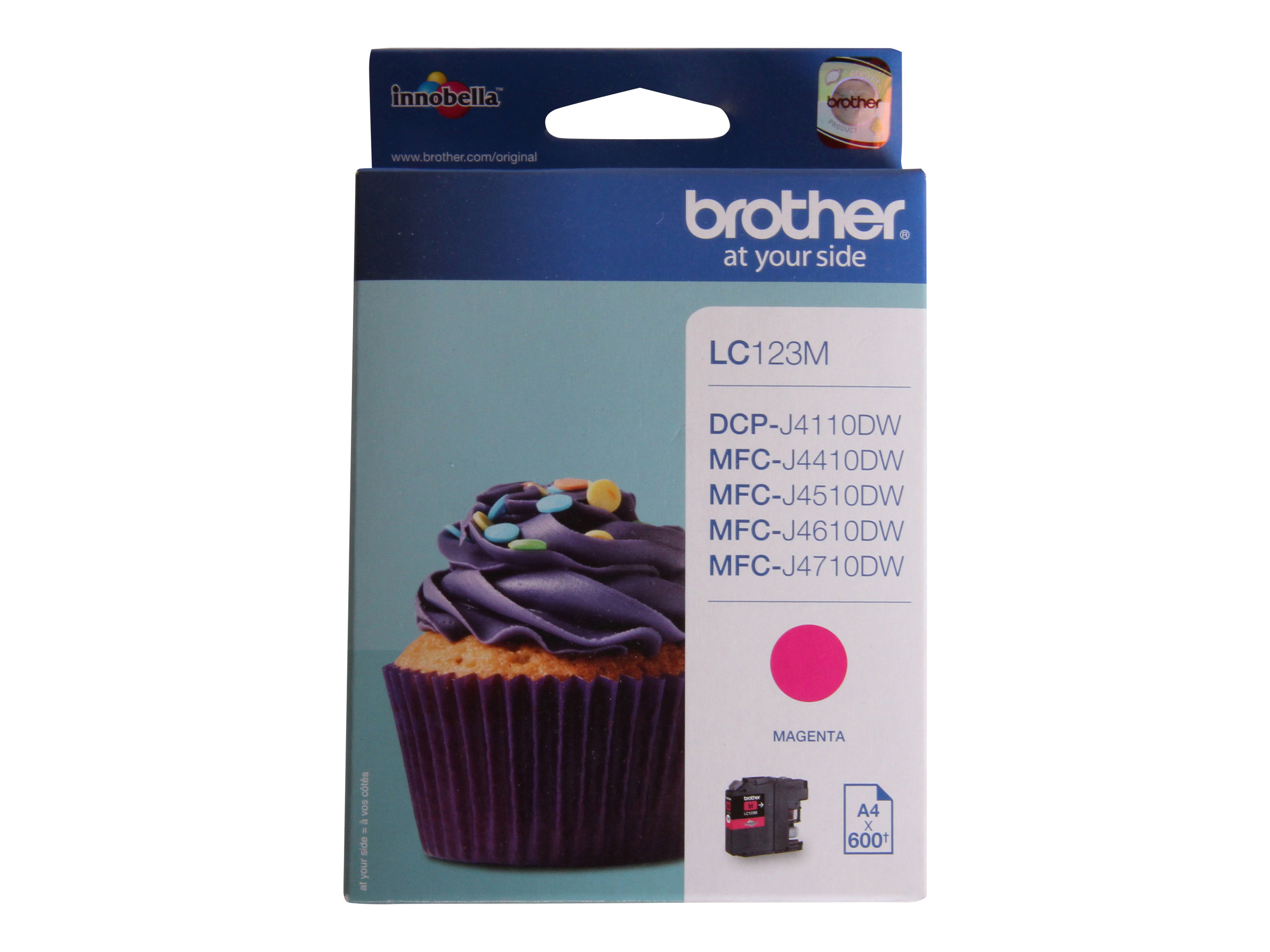 Brother LC123 - magenta - cartouche d'encre originale