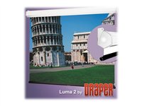 Draper Luma 2 HDTV Format Projection screen ceiling mountable, wall mountable
