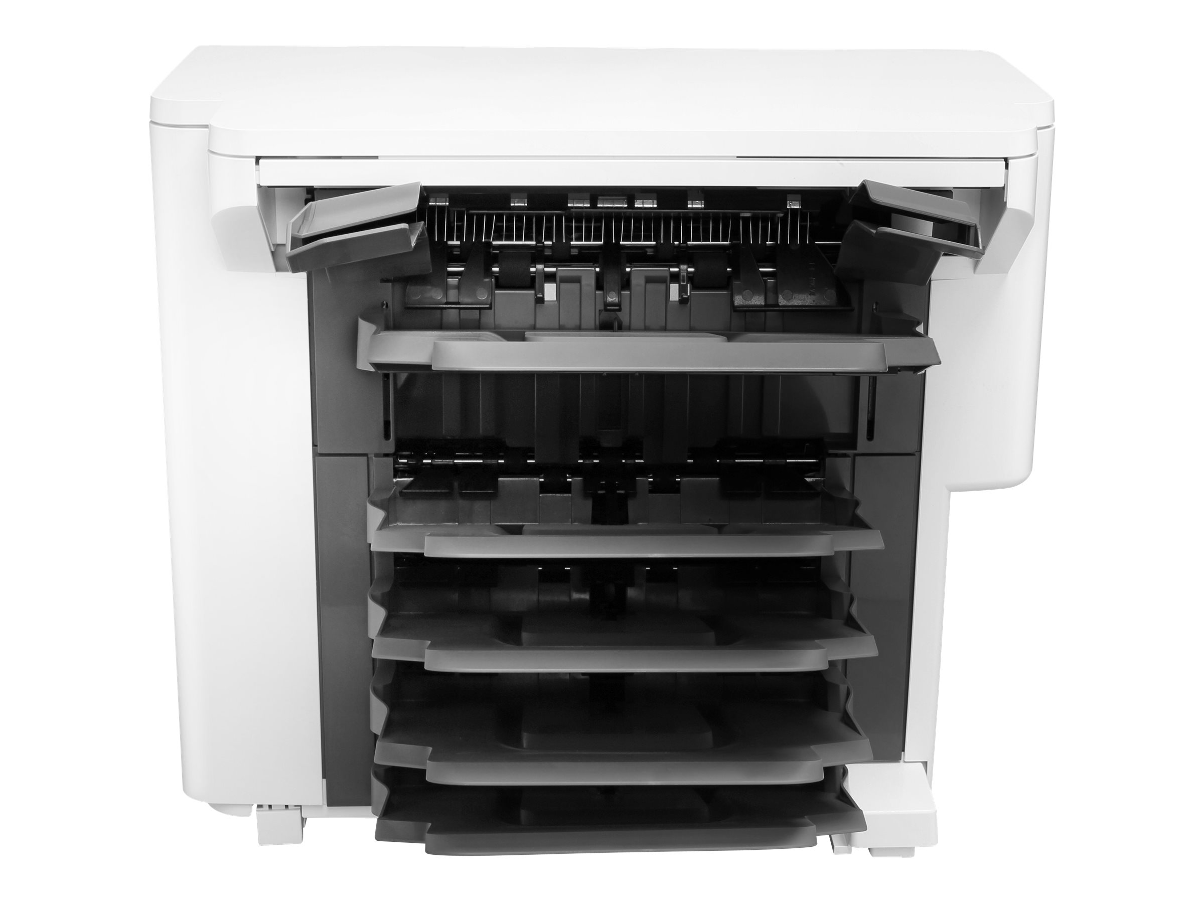 HP finisher with stacker/stapler/mailbox - 800 sheets
