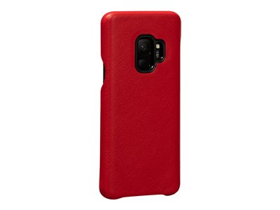 Sena LeatherSkin Back cover for cell phone full-grain leather red for