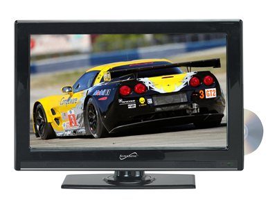 Supersonic SC-2412 24INCH Class LED TV with built-in DVD player 1080