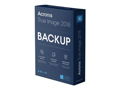 Acronis True Image Advanced - subscription license (1 year) - 1 computer, 250 GB cloud storage space