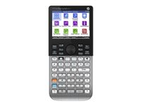 HP Prime - Graphing calculator - USB - battery - brushed metal