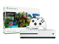 Microsoft Xbox One S Game console 4K HDR 1 TB HDD robot white