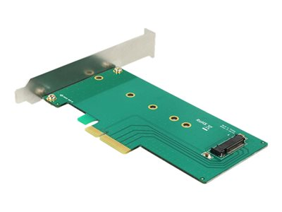 DeLOCK PCI Express x4 Card > 1 x internal NVMe M.2 Lagringskontrol