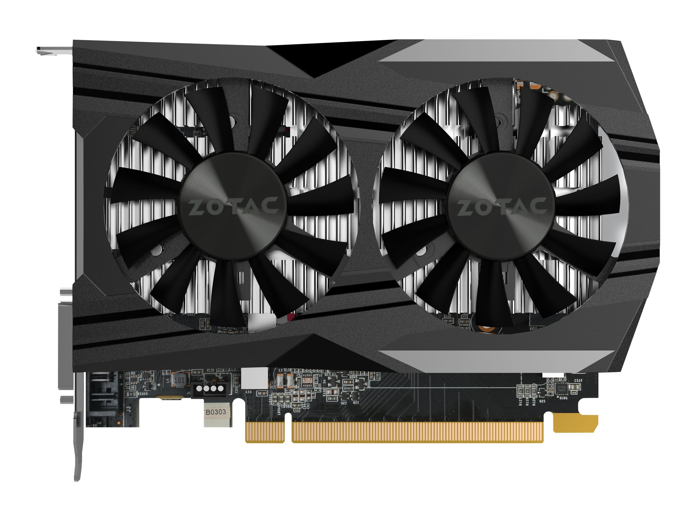 ZOTAC GeForce GTX 1050 - OC Edition - Grafikkarten - NVIDIA GeForce GTX 1050 - 2 GB GDDR5 - PCIe 3.0 x16