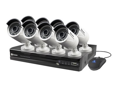 Swann SWNVK-874008 DVR + camera(s) 8 channels 1 x 2 TB 8 camera(s)