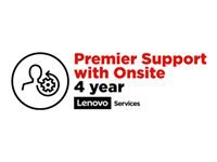 Lenovo Premier Support - Extended service agreement - parts and labor (for system with 4 years on-site warranty) - 4 years - for ThinkPad P1; P51; P52; P72; X1 Extreme; X1 Tablet (3rd Gen); ThinkPad Yoga 260