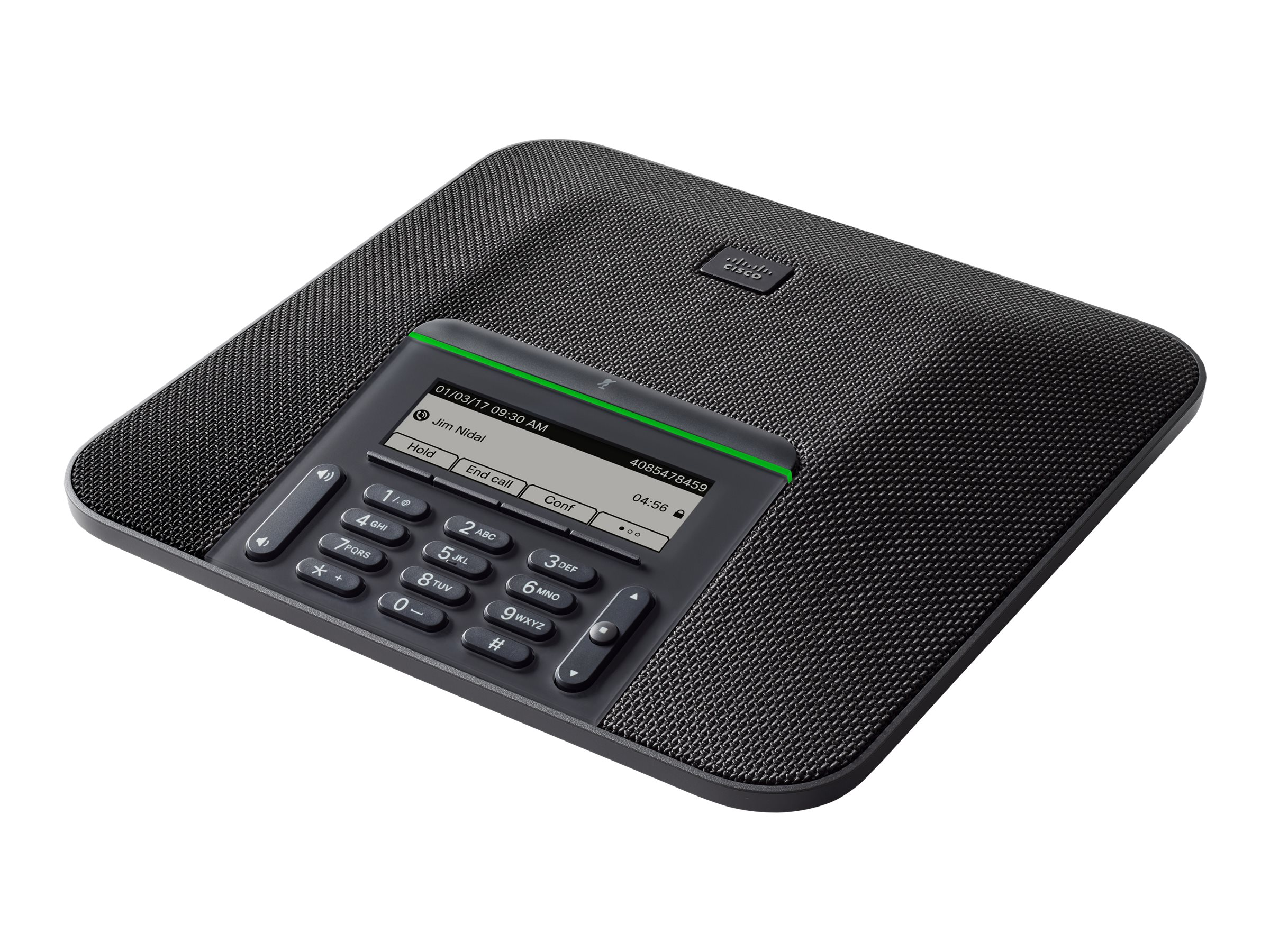 Cisco IP Conference Phone 7832 - conference VoIP phone - 6-way call capability