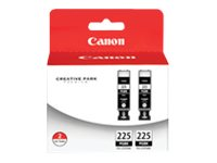 Canon CLI-225 Twin Pack - 2-pack - Large Capacity - pigmented black - original - ink tank