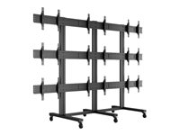 HAGOR M Video Wall Trolley 3x3 - Cart for 3x3 video wall