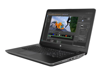 "HP ZBook 17 G4 Mobile Workstation - 17.3"" - Core i7 7700HQ - 8 GB RAM - 256 GB SSD"