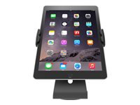 Picture of Compulocks Cling Stand - Universal Tablet Counter Top Kiosk - Black - stand (UCLGSTDB)
