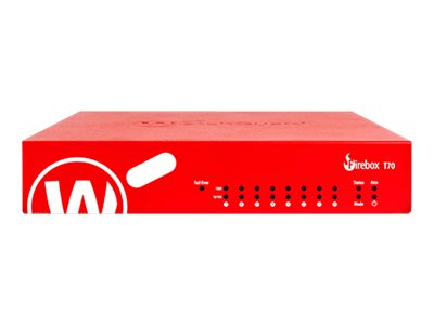 WatchGuard Firebox T70 - security appliance - with 1 year Standard Support