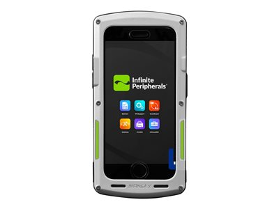 Infinite Peripherals Infinea X Barcode reader for cellular phone light gray