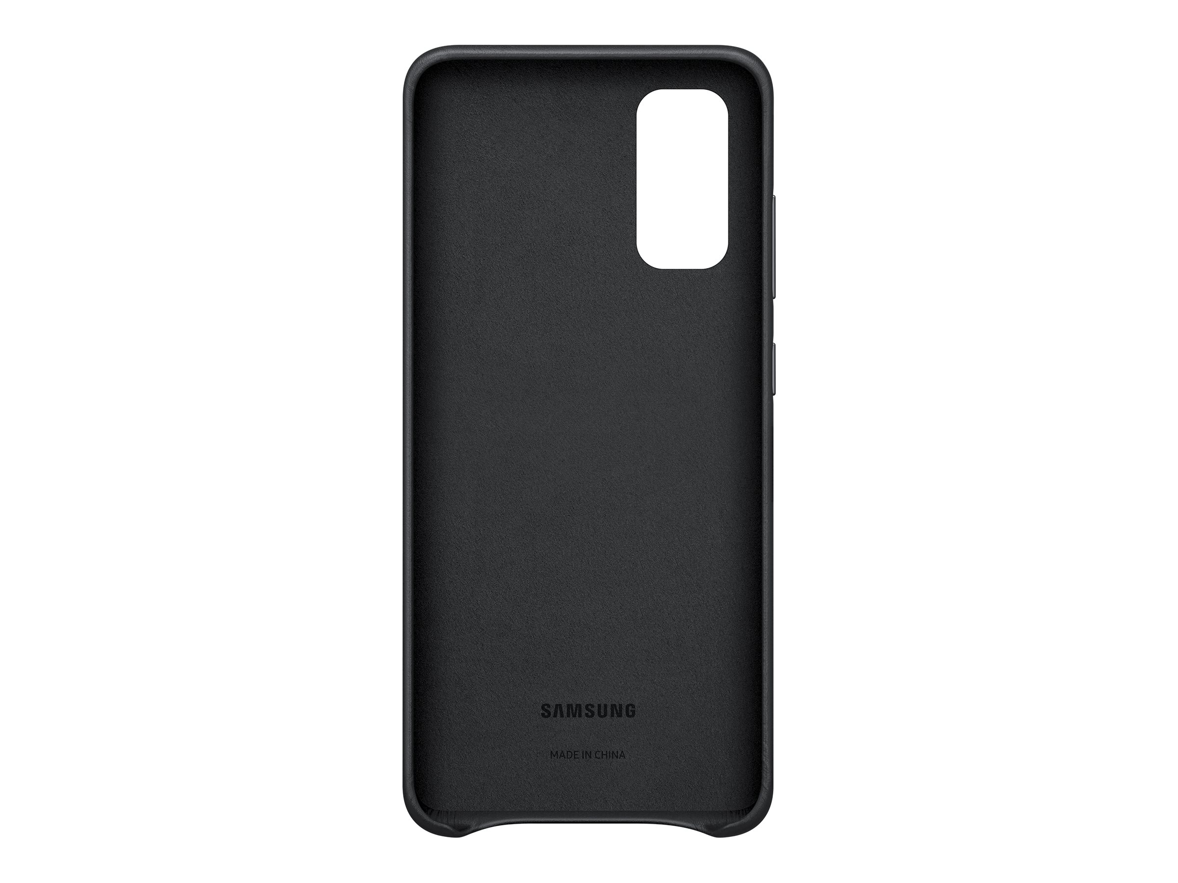 Samsung Leather Cover EF-VG980 - back cover for cell phone