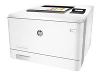 HP Colour LaserJet Pro M452nw - Printer - colour - laser - A4/Legal - 38400 x 600 dpi - up to 27 ppm (mono) / up to 27 ppm (colour) - capacity- 300 sheets - USB 2.0, Gigabit LAN, Wi-Fi(n), USB host