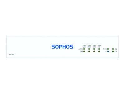 Sophos SG 115 Rev 3 security appliance with 2 years TotalProtect Plus 24x7 GigE d