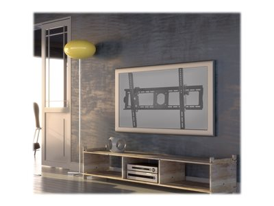 SIIG Universal Tilting TV Mount Wall mount for LCD / plasma panel steel black powder coat