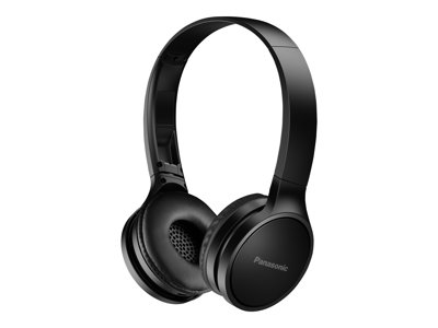 Panasonic RP-HF400B Headphones with mic on-ear Bluetooth wireless black