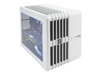 Corsair Carbide Series Air 240 - Cube - micro ATX - no power supply ( ATX ) - white - USB/Audio