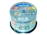 Maxell - DVD-R x 50 - 4.7 GB