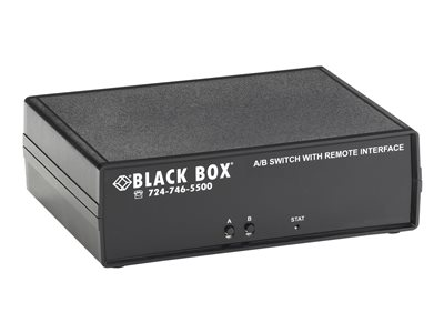 Black Box Remotely Controlled Layer 1 A/B Switch CAT6, 1 x 2 Switch desktop