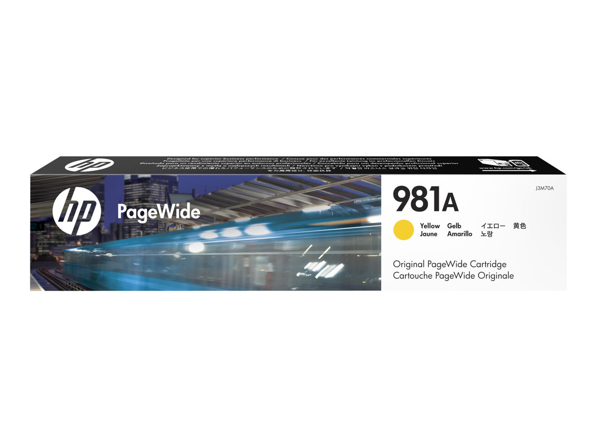 HP 981A - 69 ml - Gelb - Original - PageWide - Tintenpatrone
