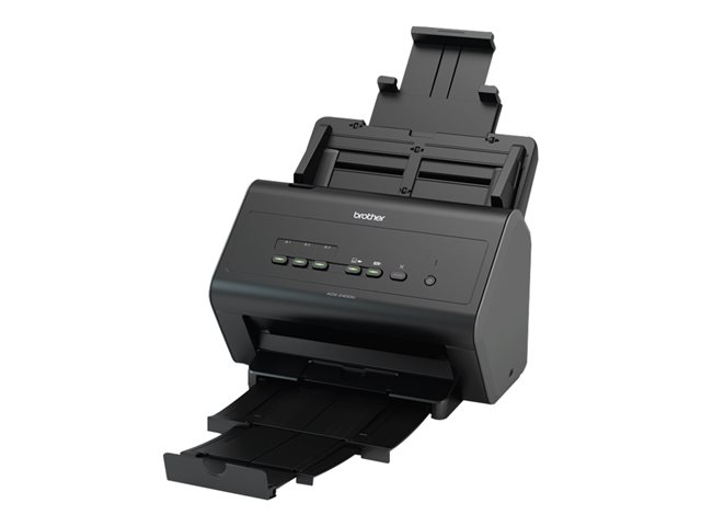 Image of Brother ADS-2400N - document scanner - desktop - USB 2.0, Gigabit LAN, USB 2.0 (Host)