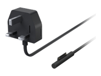Microsoft Surface 65W Power Supply - Power adapter - 65 Watt - United Kingdom, Ireland - commercial - for Surface Pro 4
