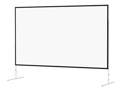 Da-Lite Fast-Fold Deluxe - Projection screen with legs - 106
