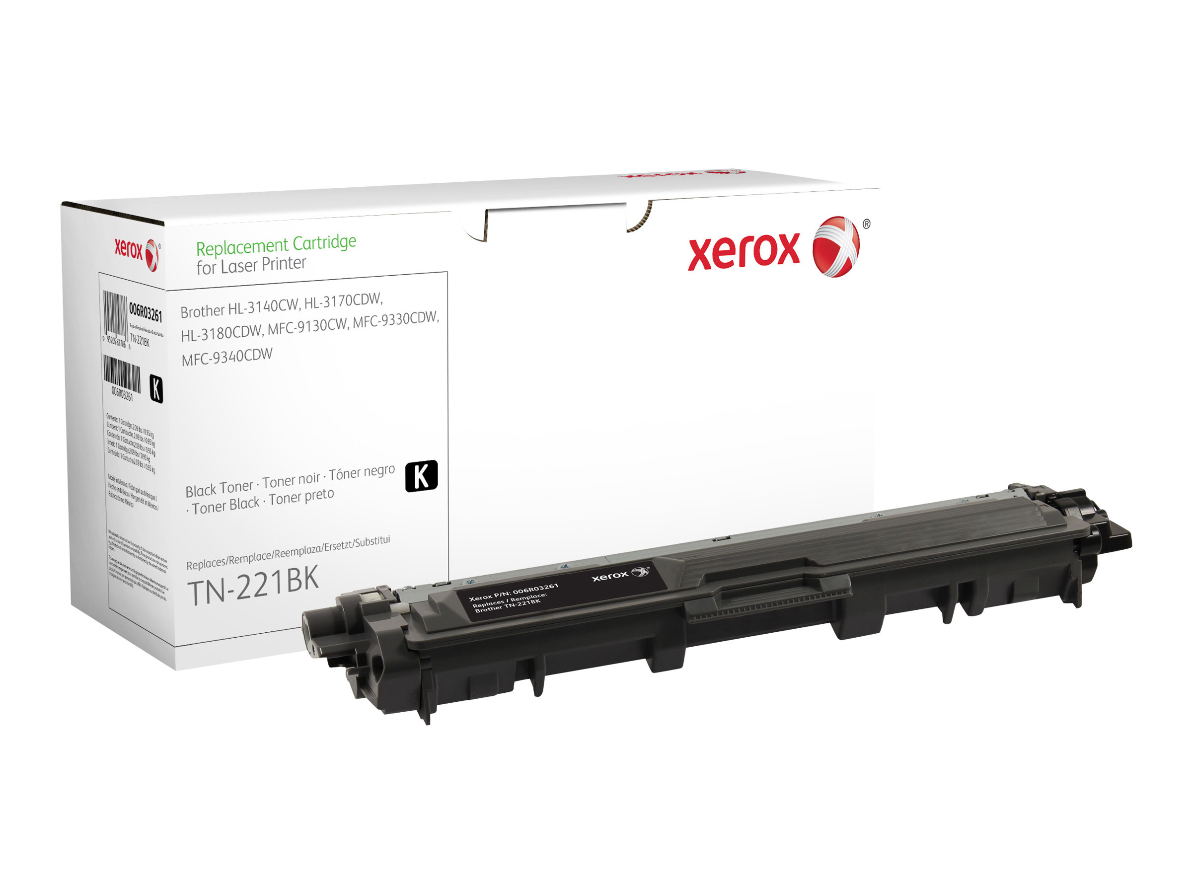 Xerox - noir - cartouche de toner (alternative pour : Brother TN241BK)