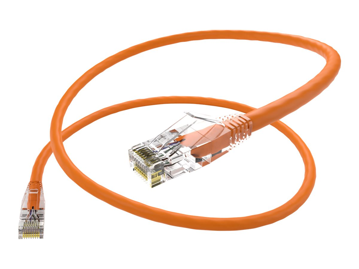 Unirise Clearfit patch cable - TAA Compliant - 1.22 m - orange