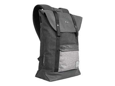 SOLO Urban Collection Code Notebook carrying backpack 15.6INCH gray, black