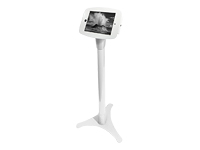 Picture of Compulocks Space Adjustable - iPad Mini Floor Stand - White - stand (147W235SMENW)