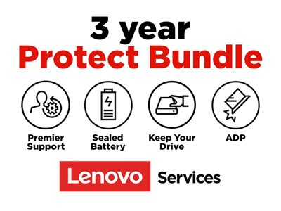 Lenovo Onsite + Accidental Damage Protection + Keep Your Drive + Sealed Battery + Premier Support