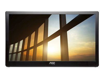 AOC I1659FWUX LED monitor 16INCH (15.6INCH viewable) portable 1920 x 1080 Full HD (1080p) IPS