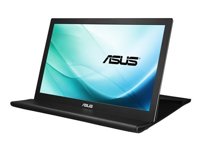 ASUS MB169B+ LED monitor 15.6INCH portable 1920 x 1080 Full HD (1080p) IPS 200 cd/m²  image