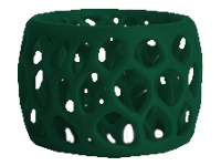 3D Systems CubePro - Forest green - ABS filament ( 3D ) - for 3D Systems CubePro, CubePro Duo, CubePro Trio