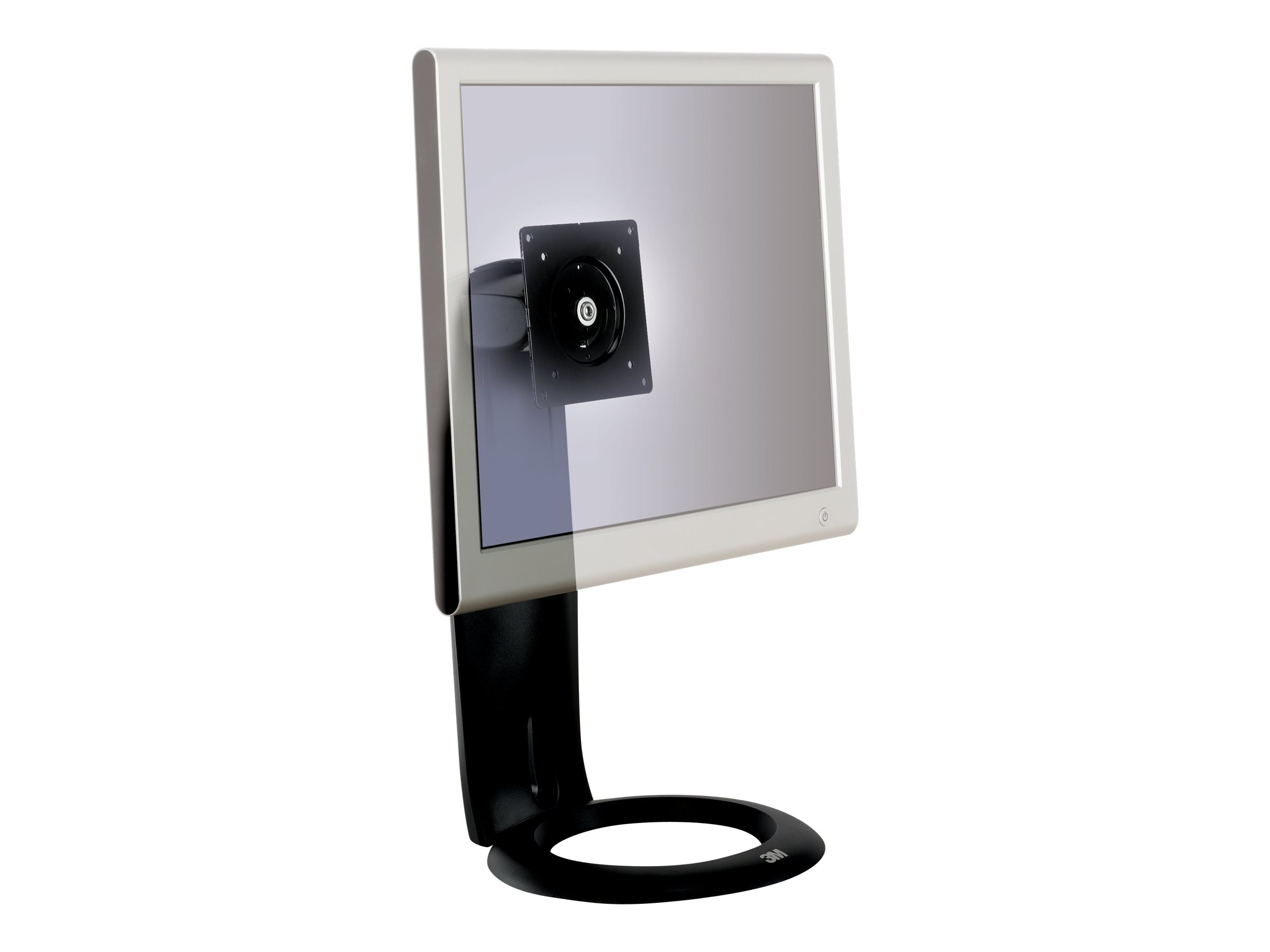 3M Easy Adjust Monitor Stand MS110MB - stand (Tilt & Swivel)
