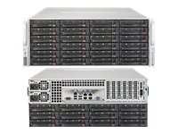 Supermicro SuperStorage Server 6048R-E1CR36N Server rack-mountable 4U 2-way RAM 0 MB