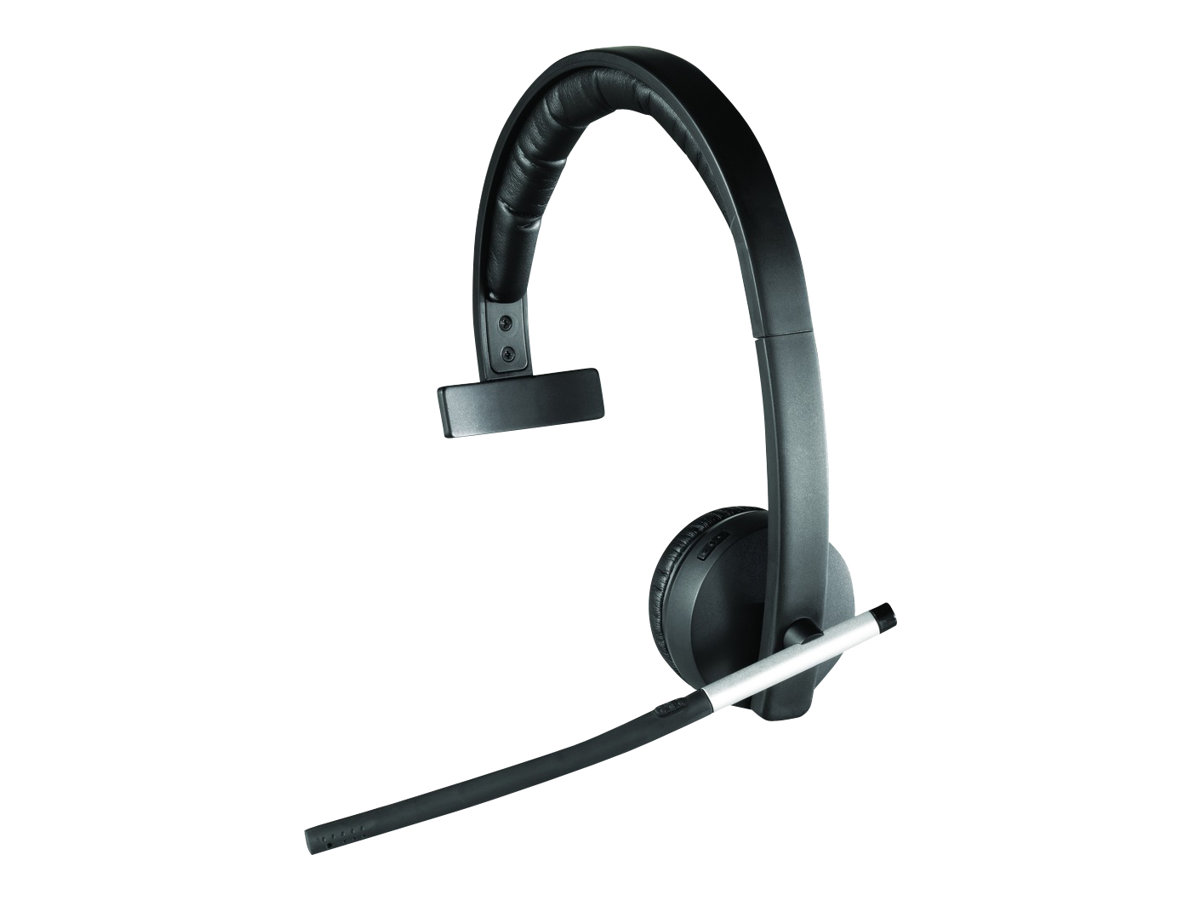 Logitech Wireless Headset Mono H820e - Headset - On-Ear - DECT - drahtlos