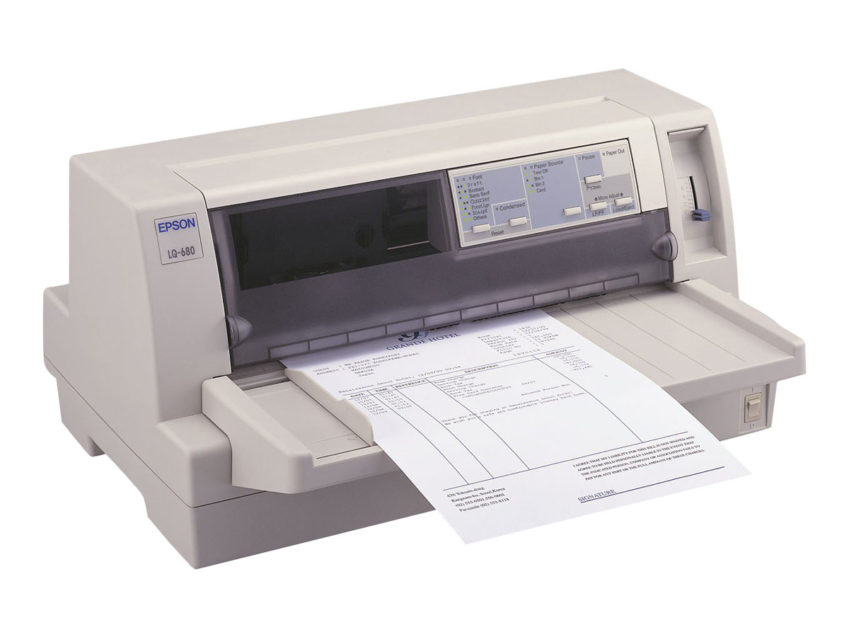 Epson LQ 680Pro - printer - B/W - dot-matrix
