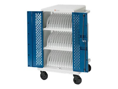 Bretford Core M CORE36MS-90D Cart for 36 tablets / notebooks lockable topaz,