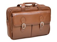 McKlein S Series Kenwood Notebook carrying case 15.4INCH brown