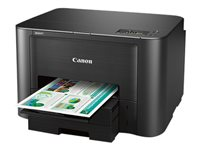 Canon MAXIFY iB4120 - Printer - color - Duplex - ink-jet - Legal - 600 x 1200 dpi - up to 24 ipm (mono) / up to 15.5 ipm (color) - capacity: 500 sheets - USB 2.0, LAN, Wi-Fi(n) with Canon InstantExchange