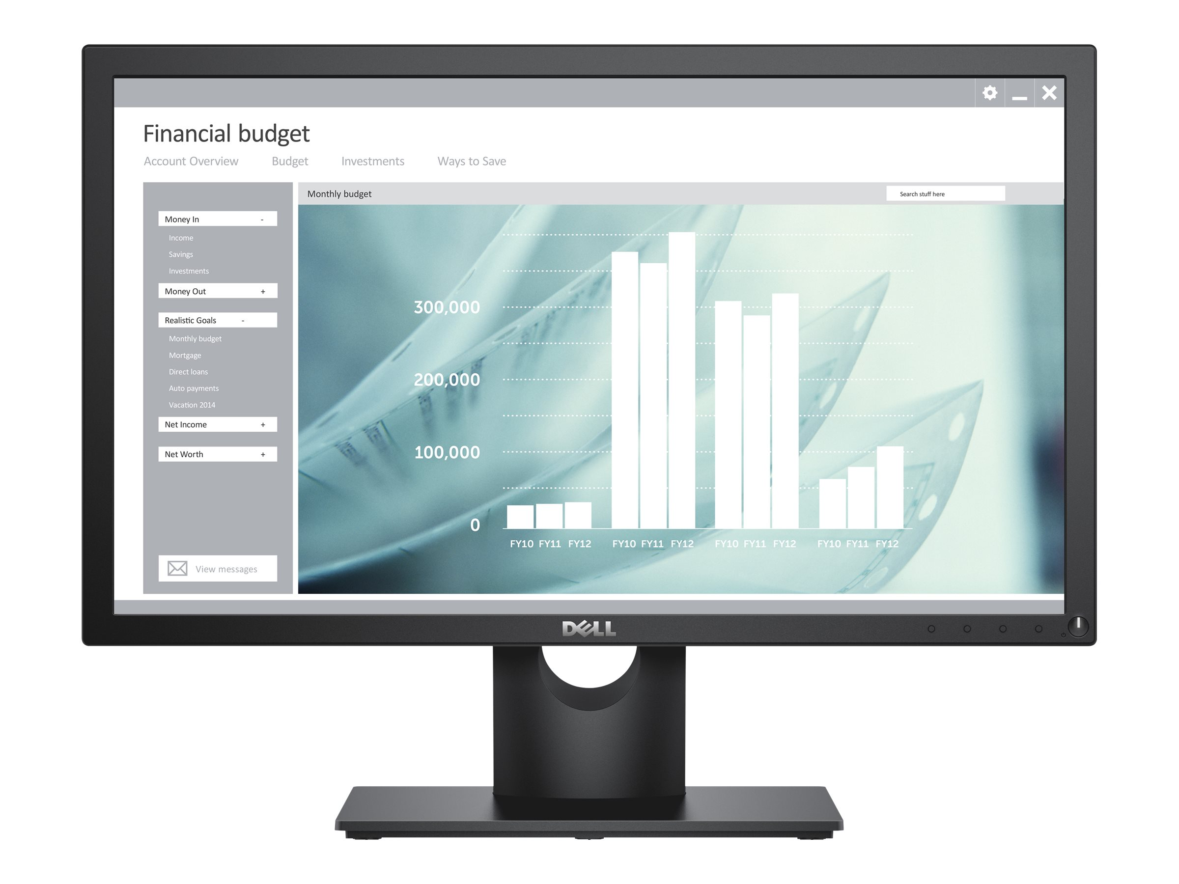 Dell E2218HN - LED monitor - Full HD (1080p) - 22""