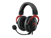 HyperX Cloud II Kabling Headset Sort Rød