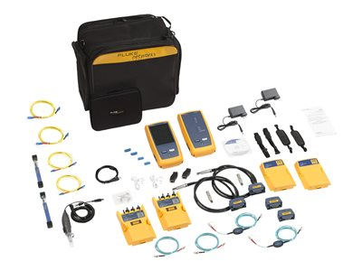 Fluke DSX CableAnalyzer DSX2-8000QI Network tester kit with 1 Year Gold Support U